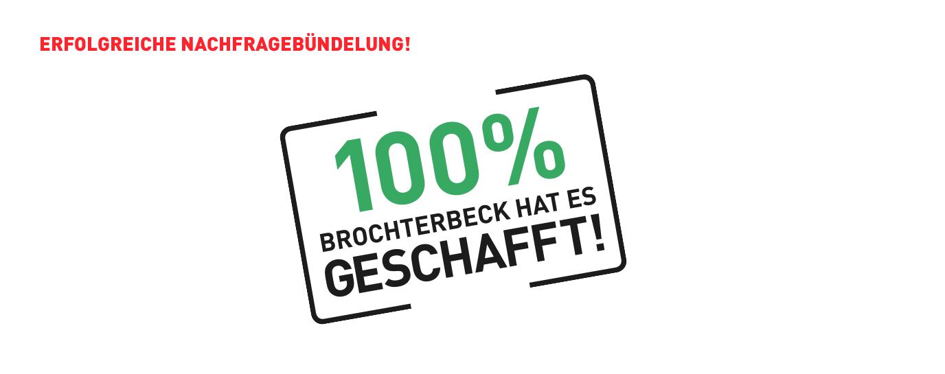 Brochterbeck hat 100% geschafft